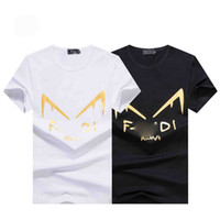 Wholesale top italy resale online - 19ss fashion Europe Italy France high quality T shirt hip hop metal design T shirt men and women clothes casual cotton designer T shirt top