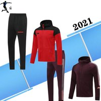 Wholesale sports uniforms for sale - Group buy 2021 RASHFORD Maillots de foot manchester POGBA Sport Coat tracksuit Soccer united uniforms Sport jacket tracksuit soccer jacket