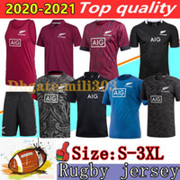 New 20 21 Zealand Rugby Jersey 2020 2021 best quality Polo shirt 100 year Anniversary Commemorative Edition rugby jerseys size:S-3XL