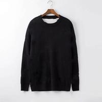 Men Fashion Designer Hoodies 2019 New Luxury Letter Knitwear Winter Mens Clothing Crew Neck Long Sleeve Sweaters