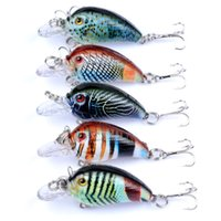 Wholesale trout fishing lures for sale - Group buy 1 Pc mm g Fishing Lures Hard Bait Minnow Fishing Lure Bass Crankbait Swimbait Trout Crank Baits with hooks Tackle