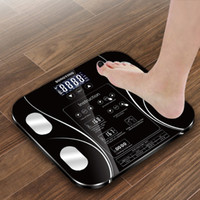 mi body fat scale 2021 - Bathroom Human Body Fat BMI Scale LCD Digital Weight Mi Scales Floor display Body Index Electronic Smart Weighing Scales T200522
