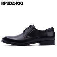Wholesale famous footwear resale online - men casual shoes dress famous latest footwear fashion italian Italy high quality designer black oxfords flats lace up
