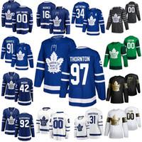 Wholesale auston matthews resale online - Toronto Maple Leafs Hockey Jerseys Joe Thornton Auston Matthews Mitchell Marner John Tavares Morgan Rielly Custom Stitched