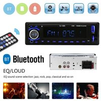 Wholesale dash mp3 player for sale - Group buy 1Pcs LCD Screen Bluetooth Car Stereo In Dash MP3 Audio Player FM Radio AUX Input FM USB radio Remote Control For phone Car Audio