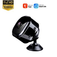 Wholesale degree life online – custom NEOCoolcam HD1080P Smart Life Super Mini Tuya Camera Portable degree wide angle Night Vision IP Wifi Camera support TF Card