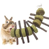Wholesale cats grass for sale - Group buy Cat Hamster Grass Ball String Bunny Toys Chew Teeth Organic Apple Wood Molar Sticks Rabbits Improves Dental Pet Supplies qylHEb allguy