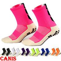 Wholesale new basketball socks resale online - Men Women Sports Sock Socks Basketball Sports Anti Slip Socks Colors New Unisex Anti Slip Soccer Running Absorb Sweat