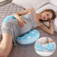 Wholesale side sleeping pillows resale online - Multi function Maternity Pillows U Shape Pregnant Women Belly Support Pillow Side Sleepers Protect Waist Sleep Body Pillows
