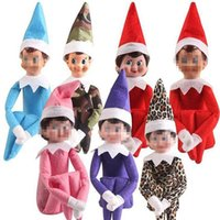 Wholesale easter clothing for girls for sale - Group buy 10 Styles elf Christmas Doll Elf Plush Toys Elves Santa Dolls Clothes On The Shelf For Christmas Gift Ornaments