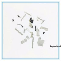 Wholesale iphone 5c plate resale online - 100 Sets Full Metal Set for iPhone S C Inner Inside Shield Holder Bracket Small Plate Kits Assembly For iPhone S P Plus sp