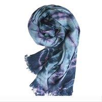 Wholesale women muslim scarf winter for sale - Group buy Designer Fashion long size women winter black Gradient cotton Scarf Shawls soft linen high quality Hijab muslim scar