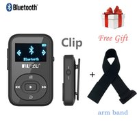 Wholesale arm mp3 player for sale - Group buy Original RUIZU Mini Clip Bluetooth Player with Screen FM Radio Voice Recorder Support SD Card free sport arm band LJ201016
