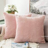 Wholesale sofa sets for for sale - Group buy Soft Soild Decorative Square Throw Pillow Covers Set Cushion Cases Comfortable Corduroy Pillow Case for Sofa Bedroom Car