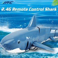 Wholesale shark electronics for sale - Group buy Children s electronic toy shark remote control simulation shark toy waterproof G canals pool and swimming