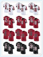 Wholesale julio jones jerseys resale online - Mens Womens Youth Atlanta Falcons NFL Devonta Freeman Ridley Julio Jones Matt Ryan Football Jerseys Custom Black Red
