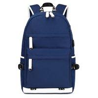 Wholesale girls school back pack resale online - Waterproof Laptop Bagpack Women Large Capacity School Bags For Teenage Girl Boys Mochila Unisex USB Back Pack Fashion Backpack