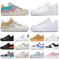 Wholesale shadow men women running shoes utility triple pale ivory sapphire aurora platform mens womens trainers sports sneakers runners size