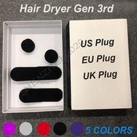 Wholesale blowers fan resale online - New Gen3 rd Generation No Fan Hair Dryer Professional Salon Tools Blow Dryer Heat Fast Speed Blower Dry Hair Dryers free sshipping