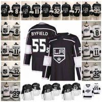 Wholesale nylon 11 resale online - 55 Quinton Byfield Stadium Series Los Angeles Kings Drew Doughty Anze Kopitar Jonathan Quick Wayne Gretzky Hockey Jerseys