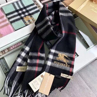 Wholesale pashmina scarf for sale - Group buy Burbèrry Scarf Designer fashion brand Scarf Cashmere Scarves For Winter Womens and mens Long Wraps Size x30cm without box
