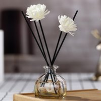 Wholesale flower reed diffuser for sale - Group buy Rattan Sticks Aroma Diffuser Reed Home Decor Accessories Aromatherapy Bedroom Replacement Faux Flower Gifts Scent Deodorization