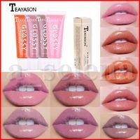 Wholesale lip glossy for sale - Group buy Teayason Lip Makeup Moisturizing Plumping Velvet Lipgloss Glitter Glossy Lip Gloss Plumper Nutritious Liquid Lipstick Mineral Oil Colors