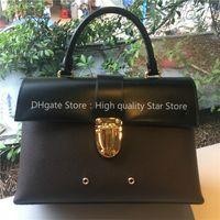 Wholesale discount totes resale online - High Quality Genuine Leather Women Bag Brand designer Purse Handbag Tote sale discount checks plaid luxury famous