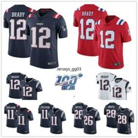 Wholesale patriot jersey for sale - Group buy New Mens Tom Brady jersey Rob Gronkowski England Patriots Sony Michel NFL Julian Edelman american football Jerseys
