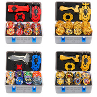 2019 Gold Takara Tomy Launcher Beyblade Burst Arean Bayblades Bables Set Box Bey Blade Toys For Child Metal Fusion New Gift 1019