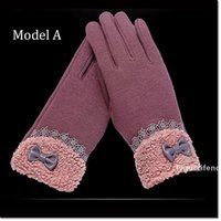 Wholesale winter gloves resale online - colorful Multi purpose women Glove Capacitive Touch Screen Warm Winter Gloves with models different colors for choose pieces pair