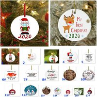 Wholesale gifts for parents resale online - Christmas Ornaments Christmas Reindeer Mask Baby Christmas Decoration Parents Gift Mom Dad Gifts For Year Married Mr And Mrs HH9