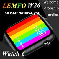 Wholesale call factory for sale - Group buy Factory new model W26 HD Screen Smart Watch PPG ECG Body Temperature Bluetooth Call IP68 Waterproof Men Women SmartWatch