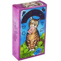 Wholesale stocking stuffer for sale - Group buy Cat Tarot Cards With Guidebook Whimsical And Humorous Tarot Deck Stocking Stuffer For Kitten Lovers Divination Board Game yxloBb
