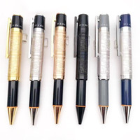 New Luxury Pens Limited Special Edition Andy Warhol Reliefs Barrel Metal Ballpoint pen Writing office school supplies High quality pen