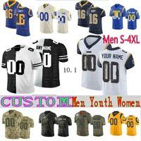 Wholesale elite football jerseys resale online - Los Angeles Rams Custom Elite Mens Women Kids Aaron Donald Jerseys Cooper Kupp Jared Goff Clay Matthews Eric Weddle