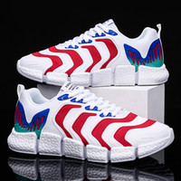Wholesale footwear for mens resale online - 2020 Men Trend Outdoor Leisure Shoes sneakers for male autumn walking mens breathable Soft bottom Lace up Footwear