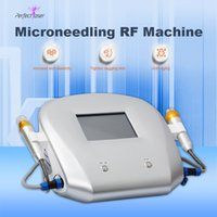 Wholesale rf skin rejuvenation beauty device resale online - RF fractional skin rejuvenation micro needle machine home use beauty device best rf skin tightening equipment
