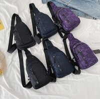 Wholesale bag pack waterproof resale online - Fashion Men Camouflage Chest Bag Best Quality Men Casual Sling Crossbody Bag Waterproof Nylon Shoulder Bag Women Travel Backpack
