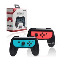 Wholesale new ps4 console for sale - Group buy New Hand Gamepads Holder Mount Controller Grips Handle Bracket For Switch Joy Con NS N Switch Console Holder High Dustproof Joy con Handle