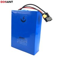 Wholesale bms resale online - 72v ah w electric bike battery for Panasonic cell E bike lithium battery v ah ah w A Charger A BMS