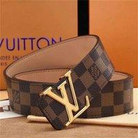 Wholesale big scarves women resale online - Fashion belts men belt women belt Big gold buckle genuine leather belt classical belts cm cm cm cm width bbyLve