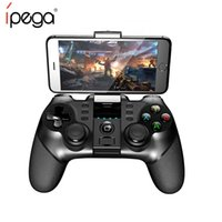 Wholesale ipega joystick game controller android resale online - IPEGA PG Bluetooth Gamepad Game Pad Controller Mobile Trigger Joystick for Android Smart Phone Tablet PC TV Computer Game