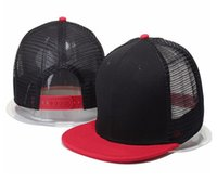 hot Blank mesh hats men women bone snapback Hats Adjustable baseball Cap