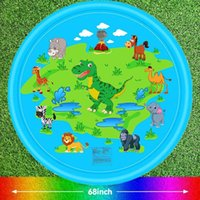 Wholesale mat boy for sale - Group buy Summer Inflatable Splash Pad Sprinkle Splash Play Mat Eco Friendly Backyard Sprinklers Toys For Boys Girls Dogs Play wmtJcN otsweet