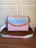 Wholesale doctor bag style handbag resale online - Fashion bags handbag lady Genuine leather bag Shoulder bags with letters old flower crossbody bag Shoulder bags
