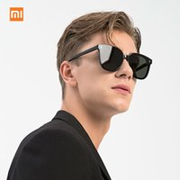 Wholesale polaroid sheets resale online - New Xiaomi Mijia ANDZ trend plate sunglasses Block UVA U high quality translucent sheet