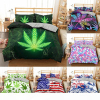 Wholesale leaf bedding sets resale online - ZEIMON Tropical Leaf Bedding Set Queen Size Plant Home Bedding Cover Single Bed Linen King Queen Size Duvet Cover set