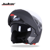 Wholesale motorcycle red glasses for sale - Group buy Motorcycle helmet dual professional glass display black sunglasses inside