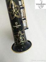 Brand new Japan Yanagisawa Soprano saxophone S901 Instrument B flat Musicl Black Golden key Soprano sax with case